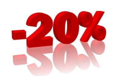 UWAGA! -20% zniżki wdniach 22-23 października !!!!