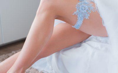 Idealna podwiązka ślubna !